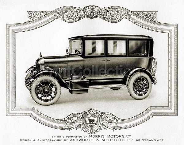 Morris Motors Automobile, from Penrose Annual