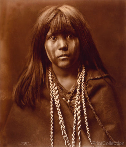 Mosa Mohave Face Front, Mohave Indian