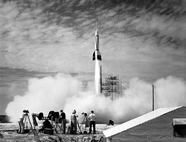 NASA's First Launch