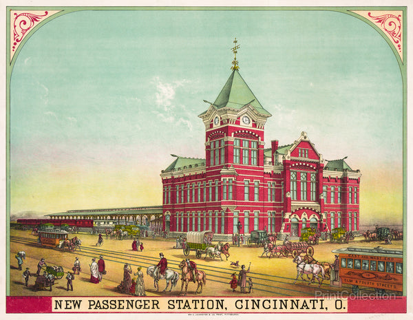 New Passenger Station, Cincinnati, Ohio