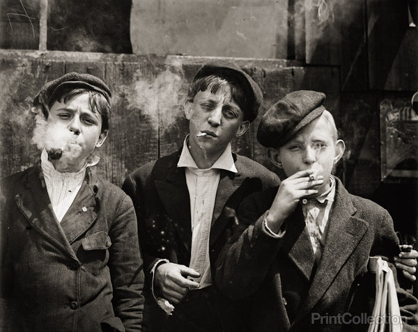 Newsies at Skeeter's Branch, 1910