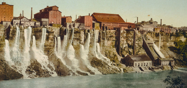 Niagara, Mills on American Shore
