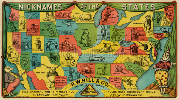 Nicknames of the States