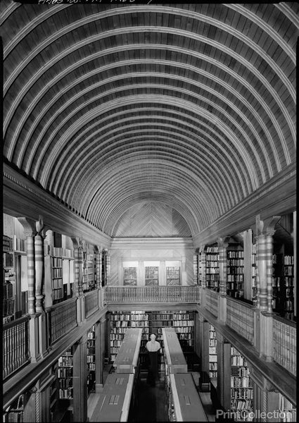Oliver Ames Free Library, North Easton, MA Barrel Vaulted Stack Room
