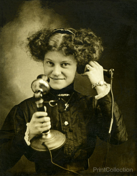 Operator Molly with Telephone