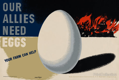 Our Allies Need Eggs. Get Cracking.