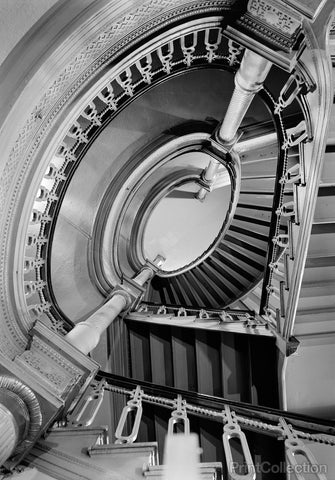 Oval Stair, Metropolitan Opera House, 1423 Broadway, New York, NY