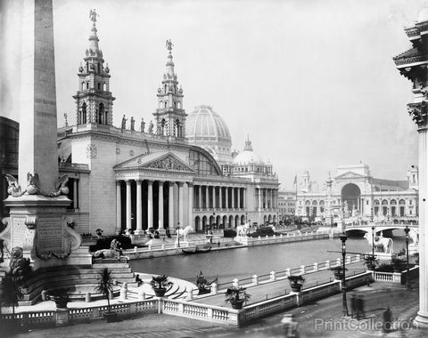 Palace of Mechanic Arts World's Columbian Exposition, Chicago