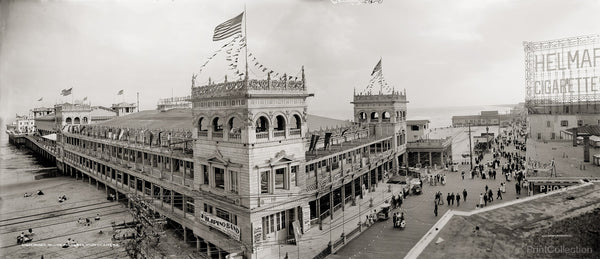 Panorama of Young's Million Dollar Pier, Atlantic City, N.J.