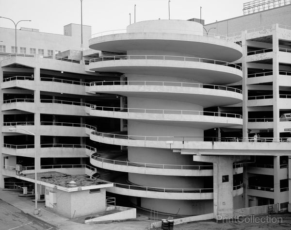 Parking Deck Spiral, Rich's Downtown Department Store, 45 Broad Street, Atlanta, Fulton, GA