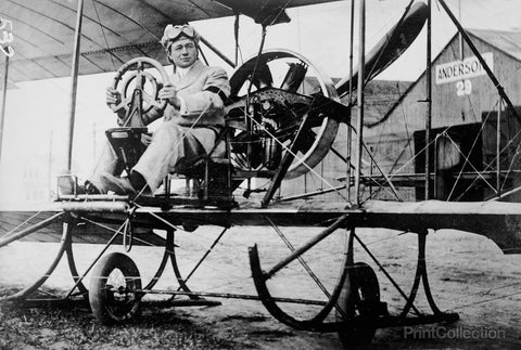 Paul Peck, Commercial Aviator