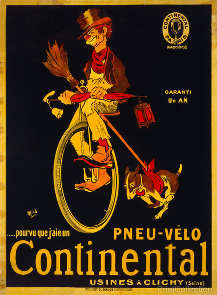 Provided I Have a Continental Bicycle Tire, 1900