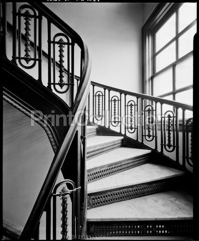 Republic Building, 209 South State Street, Stairs