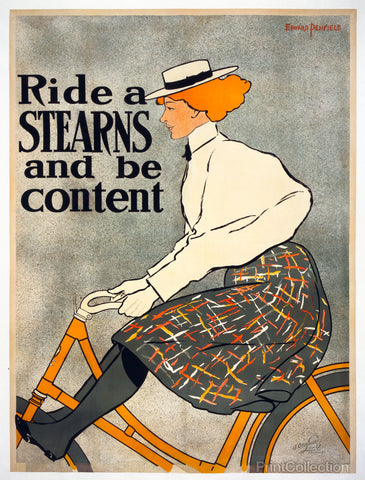 Ride a Stearns, 1896