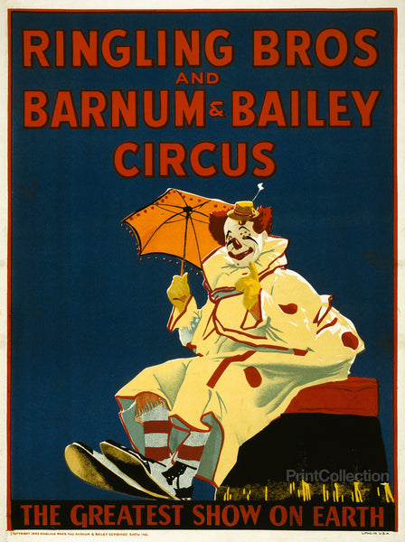 Ringling Bros and Barnum & Bailey Clown