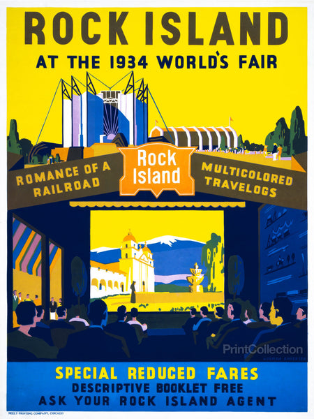 Rock Island at the 1934 World's Fair
