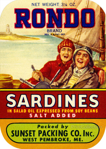 Rondo Sardines Salt Added