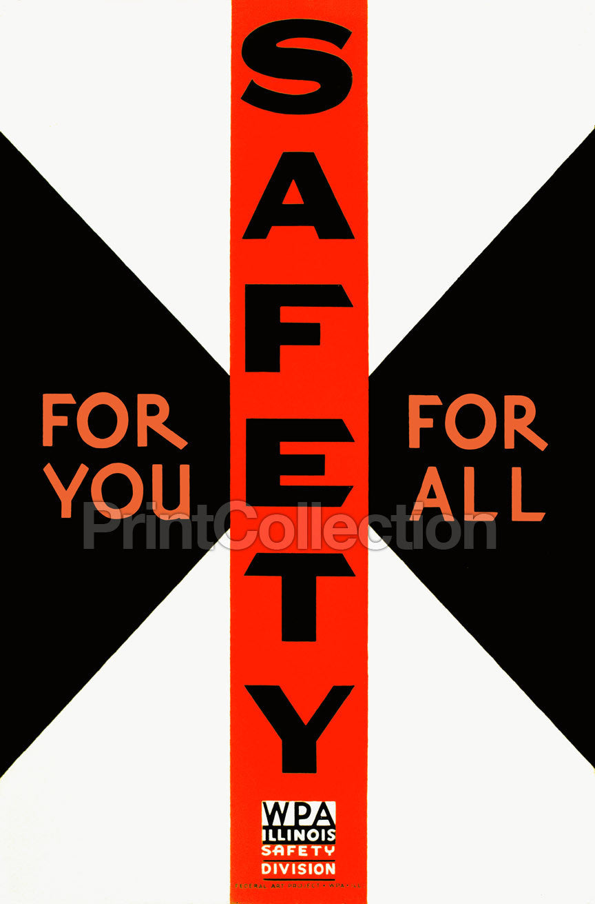print collection saftey for you saftey for all