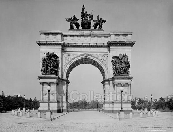 Soldiers' and Sailors' Memorial Arch, Brooklyn, N.Y.