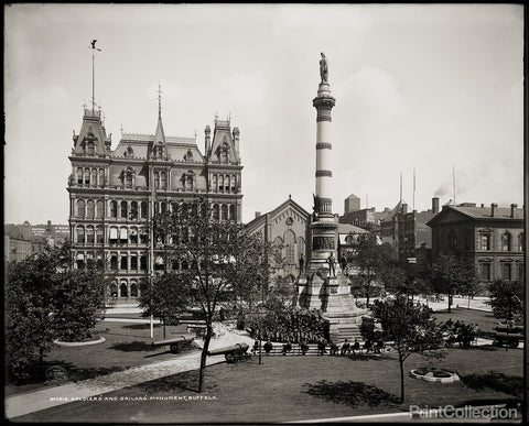Soldiers' and Sailors' Monument, Lafayette Square, Buffalo, N.Y.