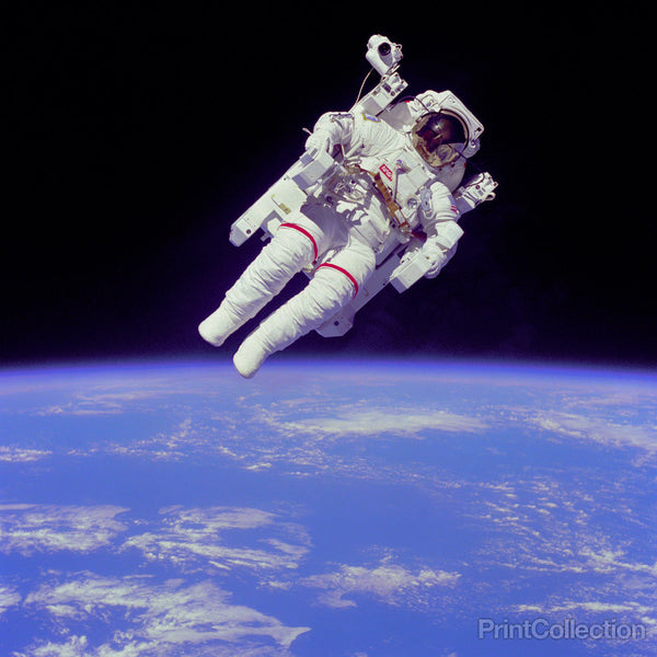 Space Shuttle Spacewalk April 1983