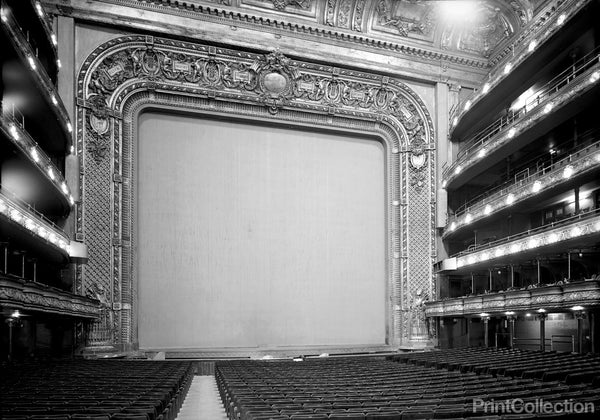 Stage View, Metropolitan Opera House, 1423 Broadway, New York, New York, NY