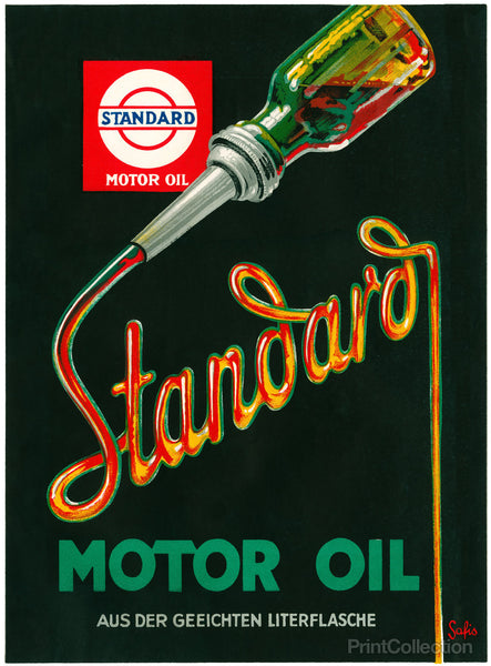 Standard Motor Oil by Safis