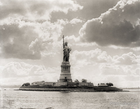 Statue of Liberty, New York Harbor, 1905