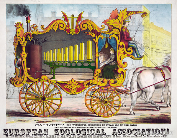 Steam Car of the Muses