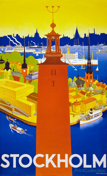 Stockholm by Iwar Donn̩r in 1936