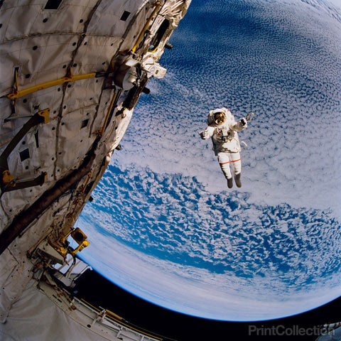 STS-64 Space Walk