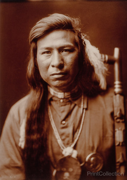 Tah It Way, Native American by Edward Curtis