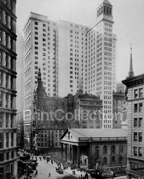 Telephone & Telegraph Bldg., Broadway & Fulton St.