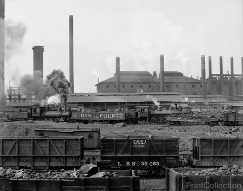 Tennessee Coal, Iron & Railroad Co.'s Furnaces, Ensley, Alabama