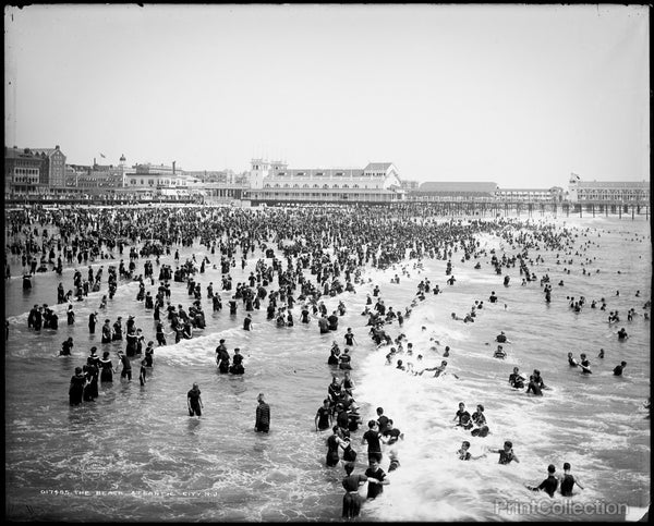 The Beach Goers, Atlantic City, N.J.