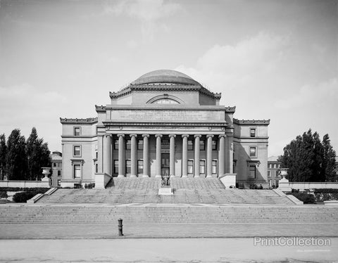 The Low Library, Columbia University, New York