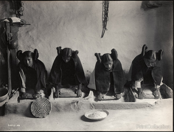 The Mealing Trough--Hopi