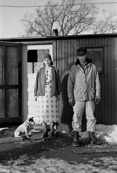 The Millers and Dog, Spencer, Iowa