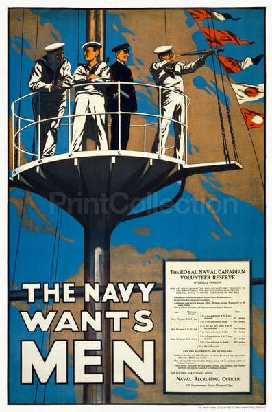 The Navy Wants Men