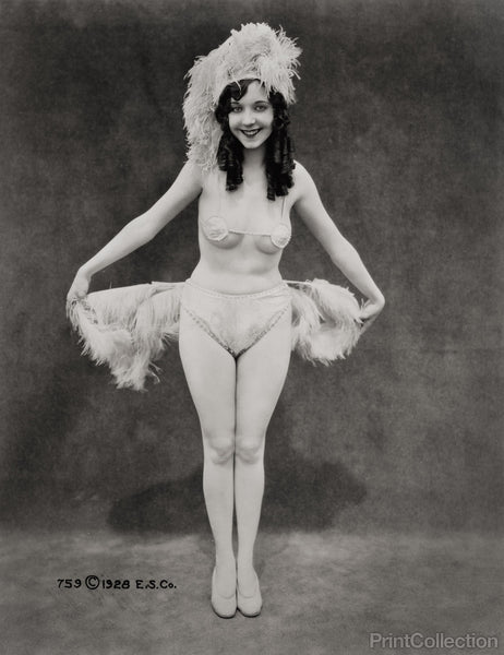 The Ostrich Girl, 1928