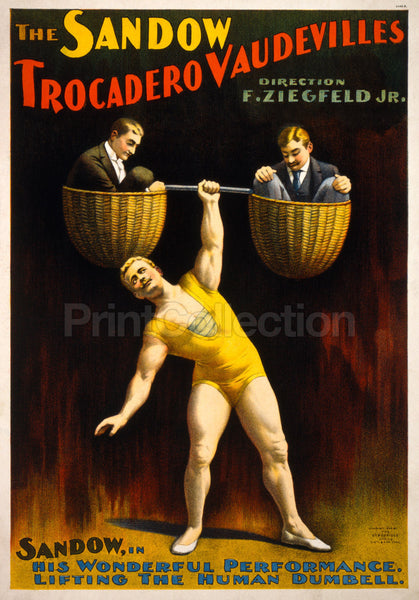 The Sandow Trocadero Vaudevilles