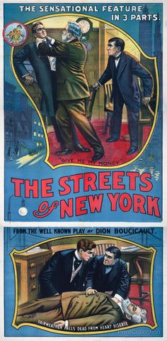 The Streets of New York Play Poster