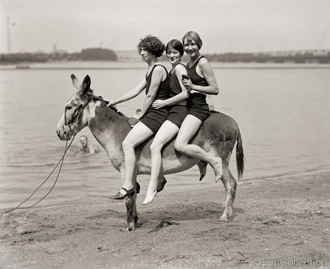 Three Women and a Donkey, 1924