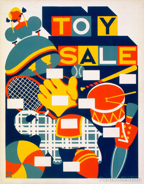 Toy Sale Federal Art Poject