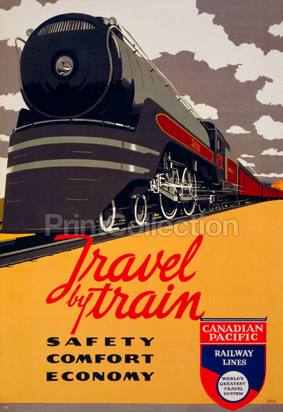 Travel by Train - Safety, Comfort, Economy