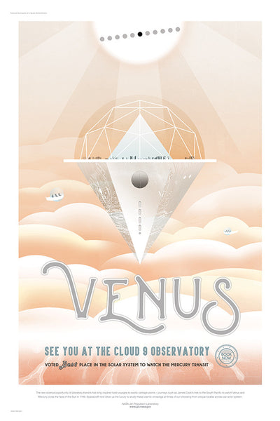 Venus, See You at the Cloud 9 Observatory