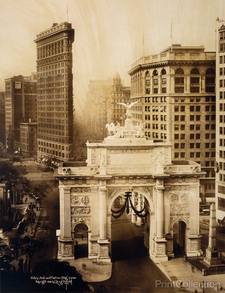 Victory Arch and Flatiron Building