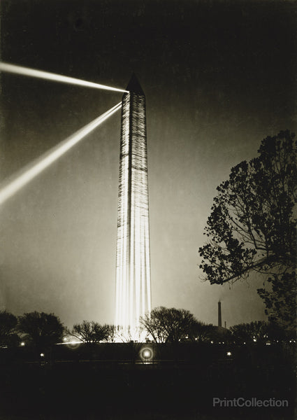 Washington Monument on Armistice Night
