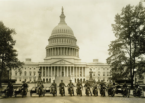 Washington's Finest Motorcycle Cops