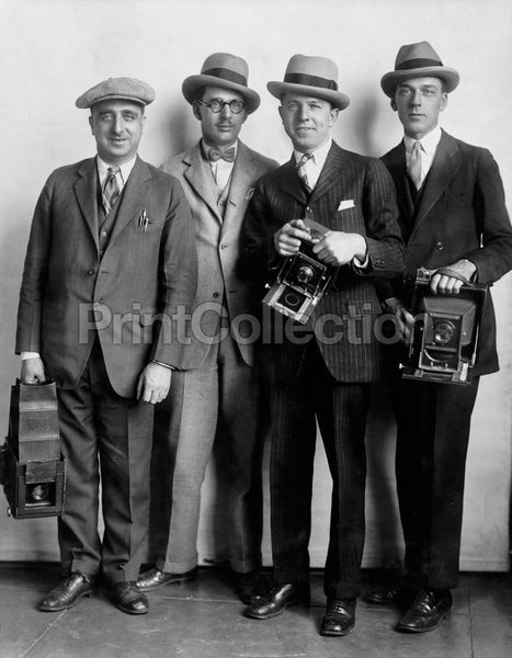 White House News Photographers 1920's